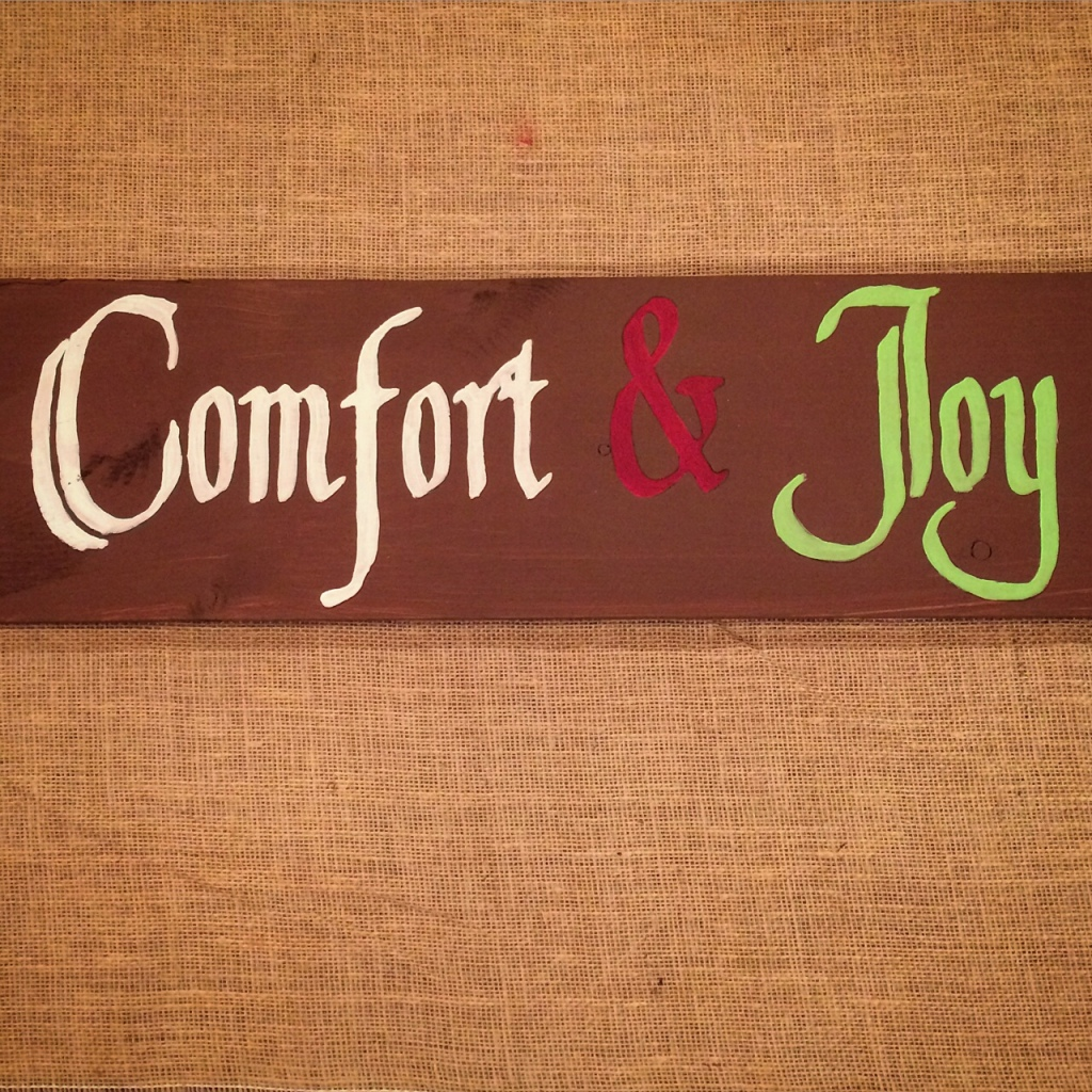 Comfort & Joy [lime green]