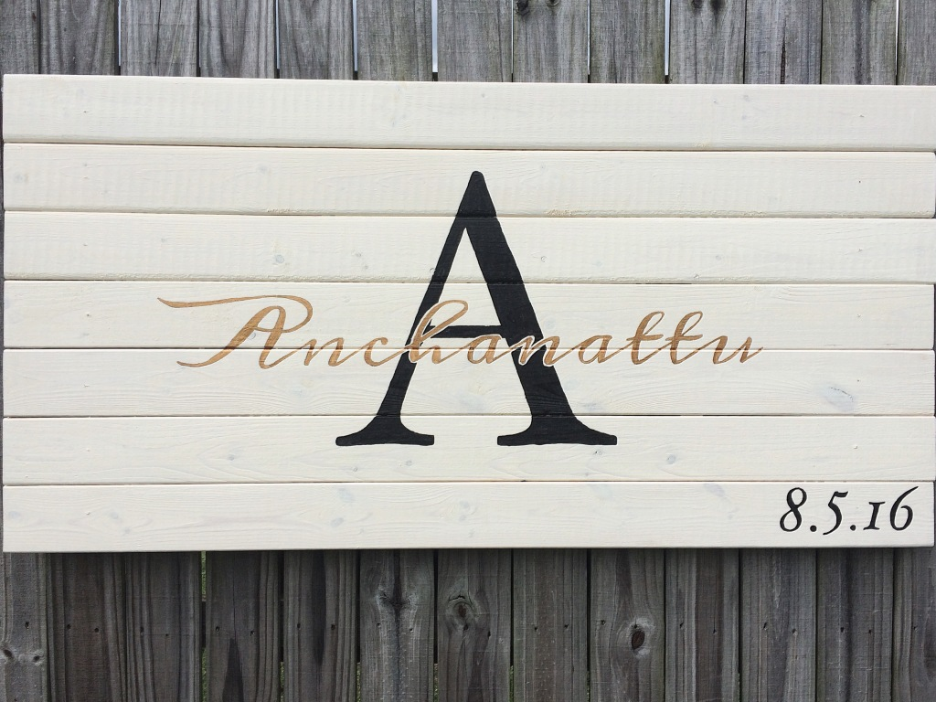 Anniversary Sign [A]