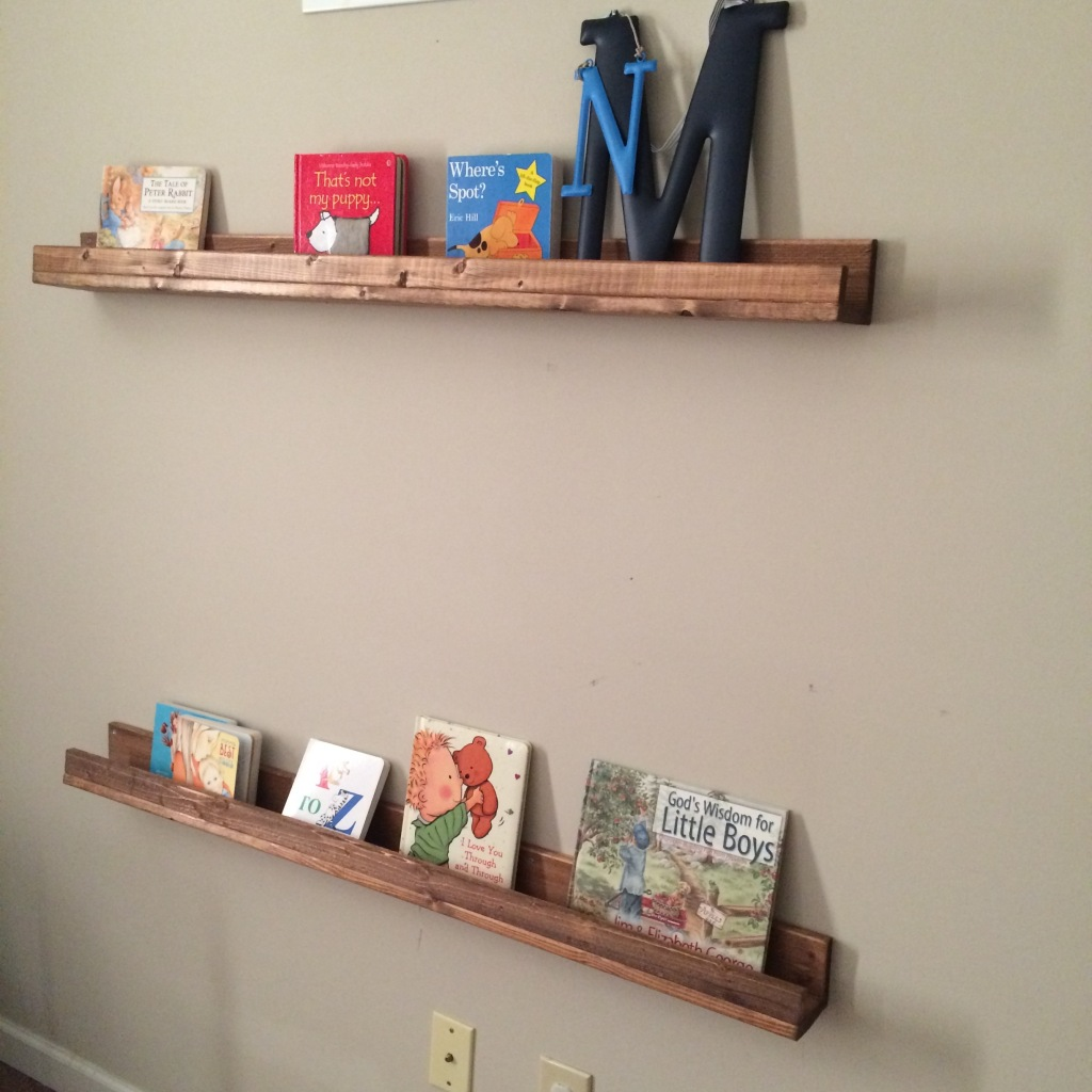 Bookshelf Ledges